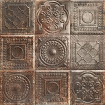 Mainzu Tin Tile Rusty Nero
