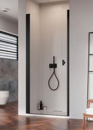 Radaway Nes Black DWJ I fekete zuhanyajtó