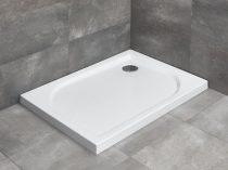 Radaway Delos D szögletes lapos zuhanytálca