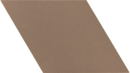 Rhombus Smooth Taupe 14x24
