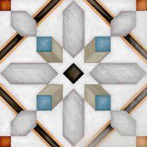 vodevil demel multicolor cementlap mintás járólap
