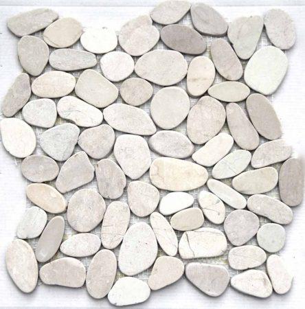 Piedra Batu Blanca 30x30 kavicsmozaik