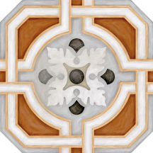 vodevil octogono zimer multicolor cementlap mintás járólap