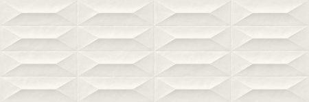 Marazzi Colorplay White Cabuchon 30x90