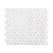 Hexagon White Mini 30x26 mozaikcsempe