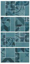 Marazzi D_Segni Blend Azzurro Mosaico M8WR 19x38