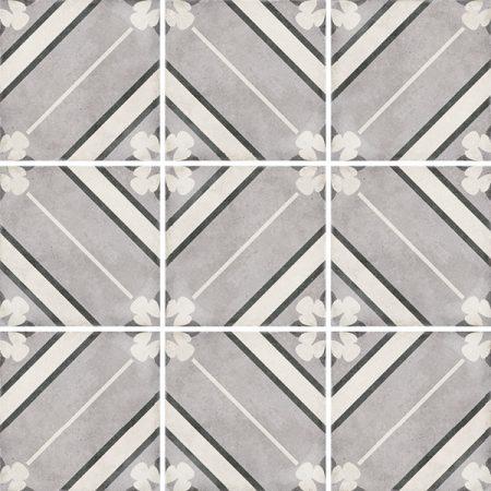 Art Nouveau Inspire Grey 20x20