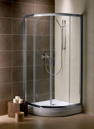 Radaway Premium Plus A1900 íves zuhanykabin