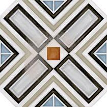 vodevil octogono ritter multicolor cementlap mintás járólap
