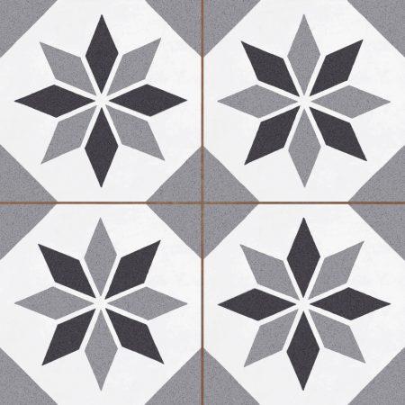 Duomo CAYREL STAR CHARCOAL 45,2x45,2