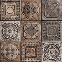Mainzu Tin Tile Rusty Mix