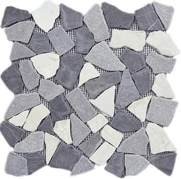 Piedra Noa Gris 30x30 kőmozaik