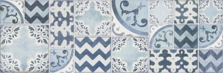 Pottery Decor Azulejo MMV4 25x76