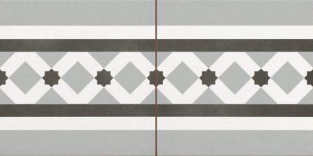 Duomo C. Henley Grey Fog 22,5x45
