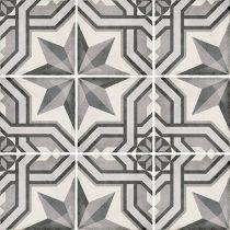 Art Nouveau Cinema Grey 20x20