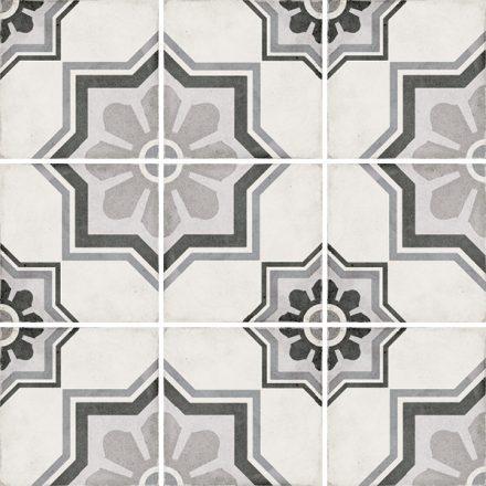 Art Nouveau Capitol Grey 20x20
