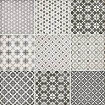 Art Nouveau Alameda Grey 20x20