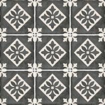Art Nouveau Pàdua Black 20x20