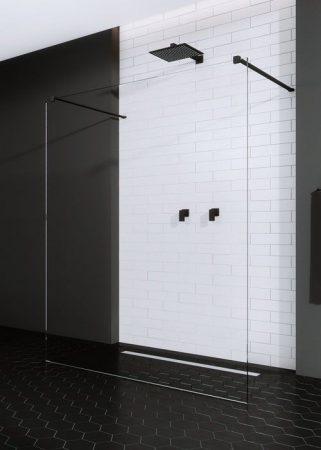 Radaway Modo New Black I -fekete zuhanyfal