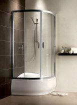 Radaway Premium Plus A1700 íves zuhanykabin