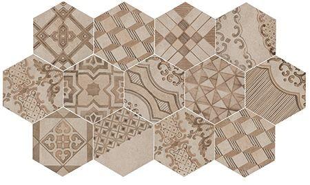MARAZI-Clays-Decoro MM7Y-Hexagon