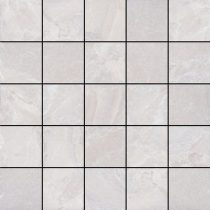 Canyon White Mosaic Matt 30x30