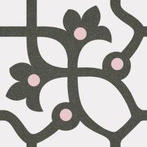 1900 Jujol Grafito 20x20 cementlap mintás járólap