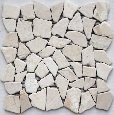 Piedra Noa Blanca 30x30 kőmozaik