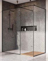Radaway Modo New Black III Frame -fekete zuhanyfal
