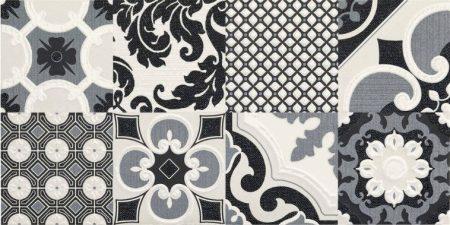 Fantasy Bianco Decoro Vintage R02P 30x60