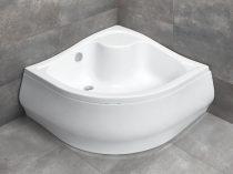 Radaway Korfu A íves zuhanytálca