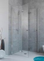 Radaway Fuenta New KDD-B szögletes zuhanykabin