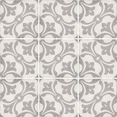 Art Nouveau La Rambla Grey 20x20
