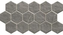 Muse Hex Grey 26,5x51 hexagon mintás járólap