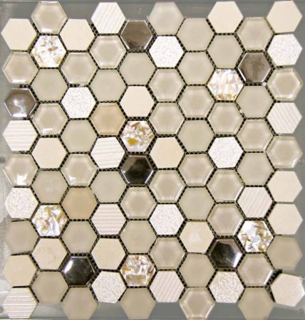 Hexagono Beige 30,5x30,5
