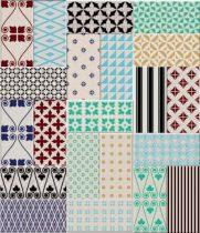 Clichy Vanilia 10x20 metró dekorcsempe mix