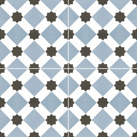 Dualgres Chic Howard Blue 45x45