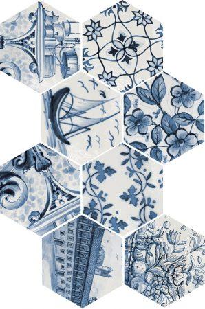 Hexatile Patchwork Lisboa 17,5x20,1