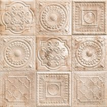 Mainzu Tin Tile Rusty Cream