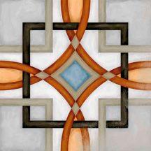 vodevil fornos multicolor cementlap mintás járólap