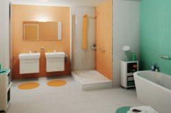 Színes 20x20 fürdőszoba falicsempe