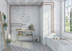 Vives Etnia rusztikus fürdőszoba